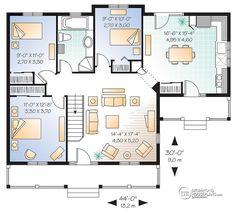 Casa plan W2161