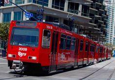 San Diego MTS trolley S-100