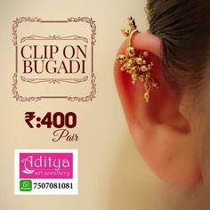 Indian Jewelry Earrings, Jewelry Design Earrings, Indian Wedding Jewelry, Fashion Earrings, Jewelry Art, Gold Jewelry, Beaded Jewelry, Jewelery, Earings Gold