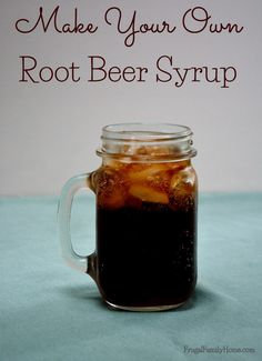 See how easy this recipe is for diy root beer concentrate. Make your own root beer syrup and make your own soda. It's a great way to have soda without the high fructose corn syrup. Non Alcoholic Drinks, Fun Drinks, Yummy Drinks, Healthy Drinks, Cocktails, Cocktail Recipes, Yummy Food, Kombucha, Recipes
