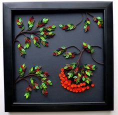Wall Decor Paper Quilling: Rowan Tree. $45.00, via Etsy.