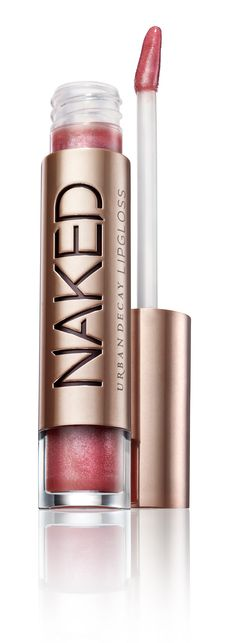 Urban Decay Naked Lipgloss. Love, love, love this lipgloss.  Not sticky at all and provides a nice sheer bit of color.  I wear it alone and over pink lipstick, it is awesome either way!