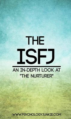Personality types dating isfj profile