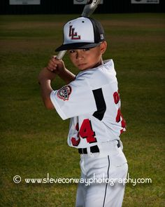 Baseball photo ideas Sandra, this might give you some ideas for Hunter photos,