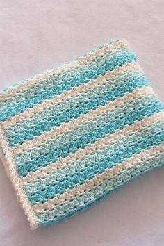 Crochet Baby Blanket Pattern Crochet Afghan Pattern Crochet | Etsy Easy Crochet Shrug, Crochet Baby Blanket Free Pattern, Crochet Slipper Pattern, Crochet For Beginners Blanket, Baby Afghan Crochet, Manta Crochet, Crochet Bebe, Afghan Crochet Patterns, Scarf Crochet
