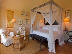LOVE!!!!  Diy bed | diy canopy bed fishnet