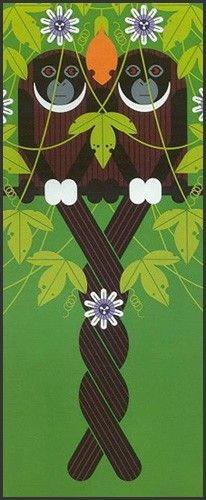 Charley Harper Store | Love on a Limb signed & numbered | Largest Dealer in the World