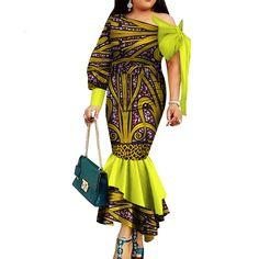 Dashiki african clothing for women party long dress natural dashiki cotton wax African Dresses For Women, African Attire, African Wear, African Fashion Dresses, African Women, African Style, Ankara Clothing, Straight Dress, African Print Fashion