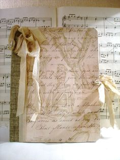 Beautiful Altered Composition Notebook Journal.