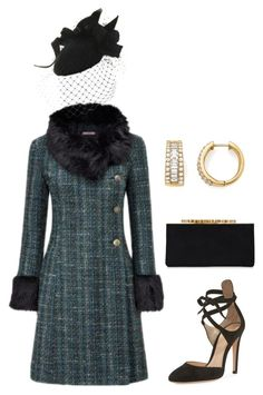 """""""Untitled #900"""" by lovelifesdreams on Polyvore featuring Brazen, Gianvito Rossi, Jimmy Choo and Bloomingdale's"""