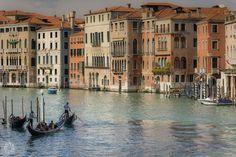 Landscape of Venice from the Rialto Bridge