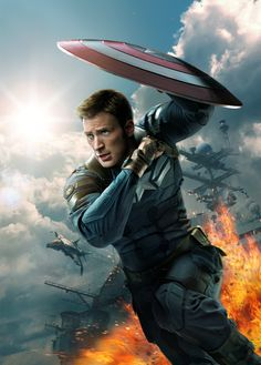Captain America: The Winter Soldier poster, t-shirt, mouse pad