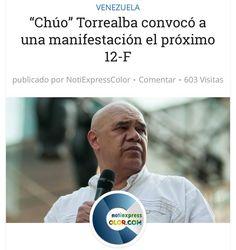 Chuo Torrealba convoca a una manifestación