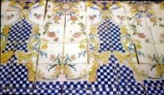 We offer these beautiful spanish handpainted majolica tiles in excellent condition.We have also other models,please check out our web site for more information here : WWW. Tile Projects, Cement, Tiles, Spanish, Hand Painted, Kitchen Tile, Blanket, Pattern, Range