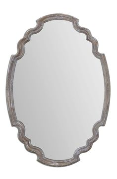 Uttermost 'Ludovica' Aged Finish Oval Wall Mirror available at #Nordstrom