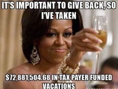 They lived as royalty on the taxpayers dime. How many poor families would that amount of $ helped?! Shame.