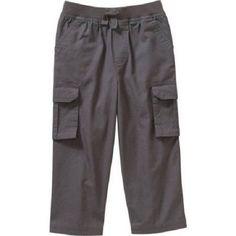 Garanimals Baby Toddler Boy Ripstop Cargo Pants, Granite, 3T