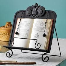 homemade recipe book stand - Google Search