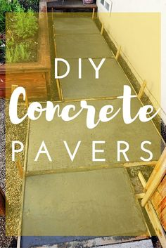 DIY Concrete Pavers are budget friendly, can be built to fit your space and look fantastic. Click through for a step-by-step tutorial to build your own bad-ass walkway.