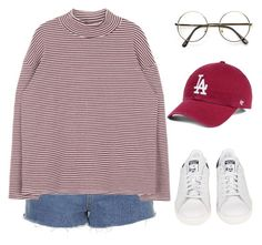 """""""Untitled #1177"""" by sarabutterfly on Polyvore featuring Topshop, adidas, 60secondstyle and outdoorconcerts"""
