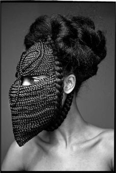 Highness Photo Series - Photographer Delphine Diaw Diallo released a new series of photographs entitled 'Highness' Photo Series, and these photos of women wear. Face Scrub Homemade, Homemade Facials, Wig Party, Hair Shows, Fashion Mask, Portraits, Photo Series, Photos Of Women, Textiles