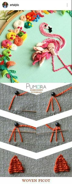 Getting to Know Brazilian Embroidery - Embroidery Patterns Embroidery Stitches Tutorial, Embroidery Techniques, Ribbon Embroidery, Embroidery Thread, Cross Stitch Embroidery, Embroidery Patterns, Brazilian Embroidery, Sewing Crafts, Needlework