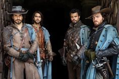 The Musketeers - Series II photos via imagebam: 2x03 *Spoilers* (Aramis, D'Artagnan, Porthos & Athos only edit)