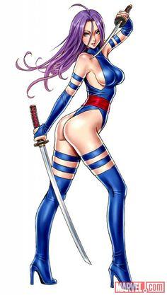Psylocke: Bishoujo Psylocke by Shunya Yamashita