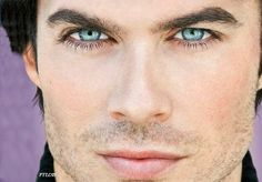 Wow, Ian's eyes are amazing