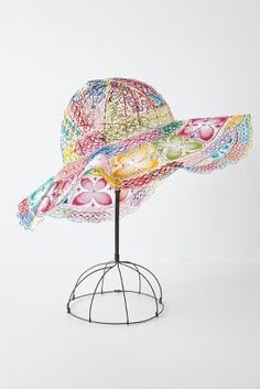 Nanduti Lace Sun Hat