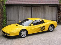 Ferrari Testarossa yellow is good on most Ferrari models but not the F40. those are red/black only.