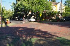 Sunnyside intersection, Portland, OR