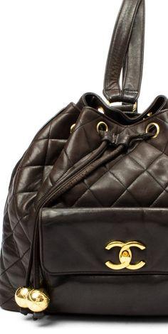 Vintage Chanel Lambskin Matelasse Backpack ♥✤ | Keep Smiling | BeStayBeautiful