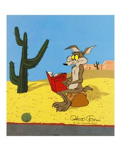 Love this Coyote & Acme Limited Edition Cel by Qart.com on #zulily! #zulilyfinds