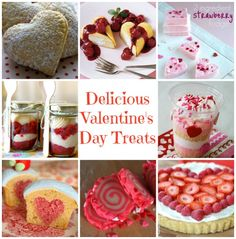 Delicious Valentine's Day Treats from makingtimeformommy.com Featured @ www.partyz.co your party planning search engine!
