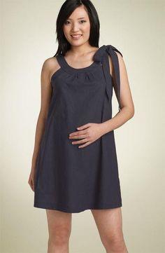 Fotos de vestidos de fiestas para embarazadas Maternity Nursing Dress, Cute Maternity Outfits, Maternity Gowns, Stylish Maternity, Pregnancy Outfits, Maternity Fashion, Tent Dress, Urban Dresses, Clothes