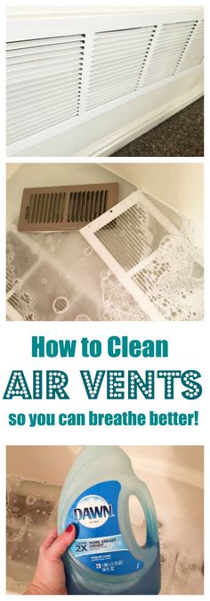 How to Clean Air Vents - The Organized Mom You are in the right place about spring cleaning inspiration Here we offer you the most beautiful pictures about the spring cleaning tips you are looking for Deep Cleaning Tips, House Cleaning Tips, Natural Cleaning Products, Cleaning Solutions, Cleaning Hacks, Diy Hacks, Cleaning Recipes, Cleaning Supply Organization, Clean House Tips