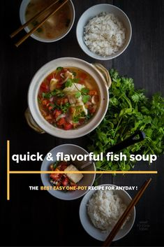 Quick and flavorful fish soup. Such a perfect easy one-pot recipe that is perfect for weeknight|What To Cook Today