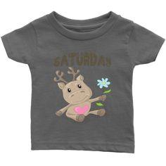 Saturday T-shirt (Infants) Infants, Babies, Best Deals, Kids, T Shirt, Clothes, Women, Fashion, Young Children