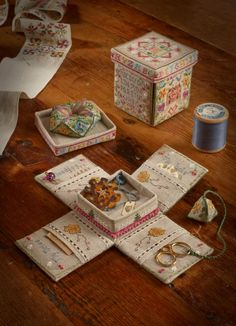 cross stitch sampler box - Google Search More