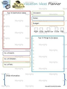Free Itinerary Template  MultiCity Travel Itinerary Free