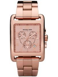 pretty rose gold watch by Michael Kors