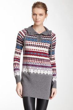 Hooded Knit Sweater on HauteLook