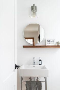 Compact basin and sh