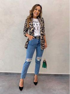 Big Girl Fashion, Cute Fashion, Look Fashion, Autumn Fashion, Fashion Edgy, Hot Outfits, Fashion Outfits, Casual Blazer Women, African Wear Dresses