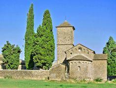 Barós, Comarca de la Jacetania - Iglesia románico lombarda de San Fructuoso, S. XI