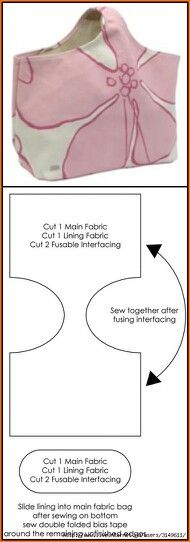 site not in English but directions are Super Easy Tote or beach bag Pattern, Another great, easy bag pattern - DIY bag. site not in EnglishMany beginners in sewing often argue that they do not have any need for special sewing furniture. Sewing Hacks, Sewing Tutorials, Sewing Patterns, Sewing Tips, Tutorial Sewing, Bag Tutorials, Sewing Basics, Sewing Ideas, Knitting Patterns