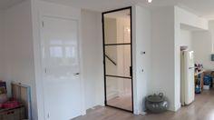 Een Stalen Deur : Tocht portaal van staal en glas authentieke stalen deuren en