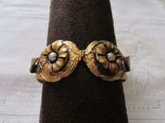 Vintage 60's Victorian revival flower by msvintagetreasures