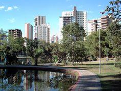 O Bosque dos Buritis é um parque urbano situado no Setor Oeste em Goiânia. É o mais antigo patrimônio paisagístico de cidade. Possui 141.500 metros², cercado por árvores, lagos, e plantas rasteiras. Conta com três lagoas artificiais abastecidas pelo córrego Buriti e por vários canais subterrâneos. #Mtur
